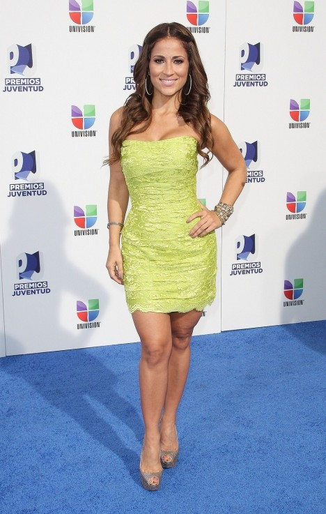 Jackie Guerrido Univisions At Th Annual Premios Juventud Awards July Jackie Guerrido
