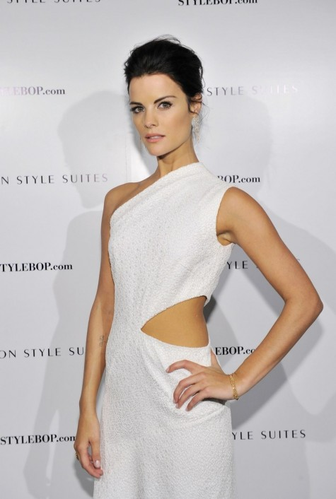 Jaimie Alexander At British Fashion Council And Stylebopcom Cocktail Party In London Fashion