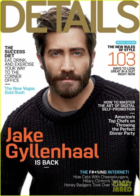 Jake Gyllenhaal Covers Details September Beard