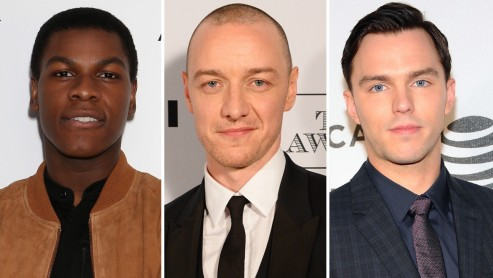 John Boyega James Mcavoy And Nicholas Hoult Split James Mcavoy