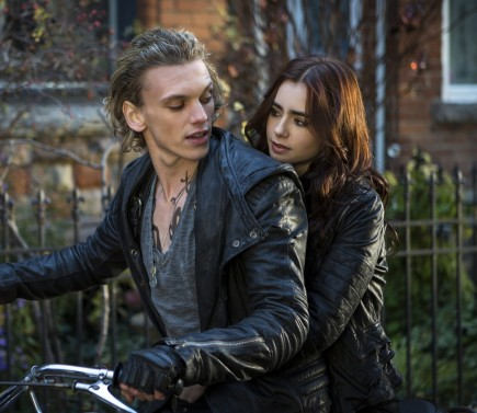 Mortal Instruments Lily Collins Jamie Campbell Bower Jamie Campbell Bower