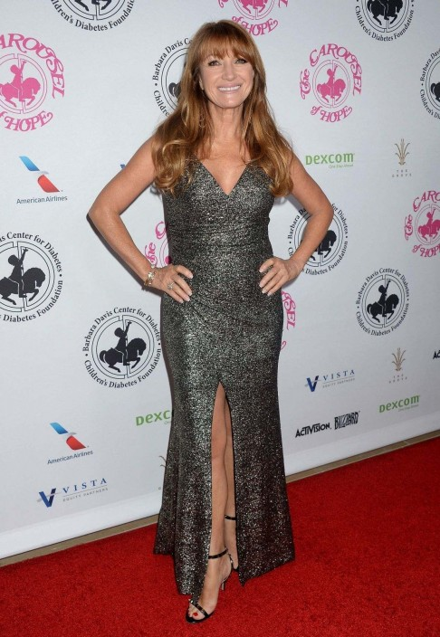 Jane Seymour At Carousel Of Hope Ball In Beverly Hills October Jane Seymour