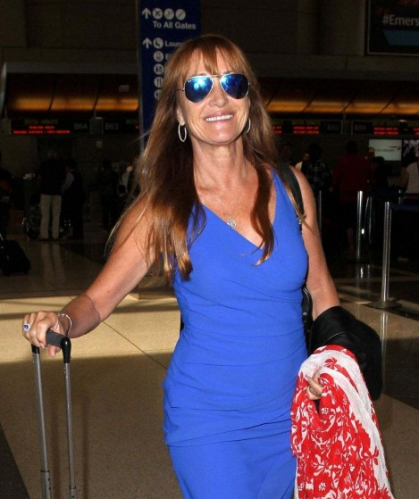 Jane Seymour At Lax Airport In Los Angeles September Jane Seymour