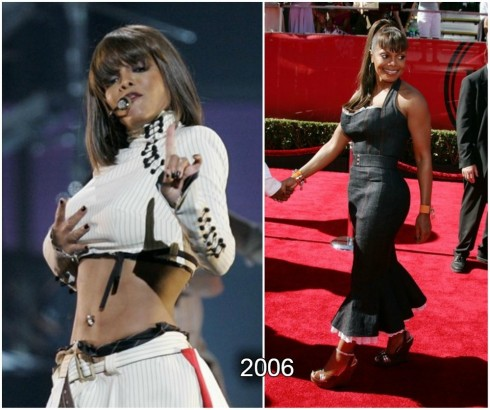 Janet Jackson Faces Essential Changes In The Body Shape Janet Jackson