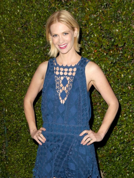 January Jones At Chloe Fashion Show And Dinner In Los Angeles Fashion
