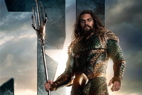 Jason Momoa As Aquaman In Justice League On Jason Momoa