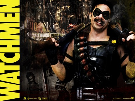 Jeffrey Dean Morgan In Watchmen Wallpaper Normal
