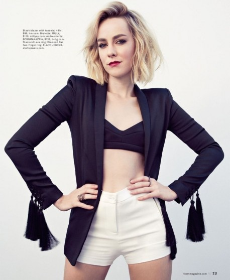Jena Malone Foam Magazine February Issue Jena Malone
