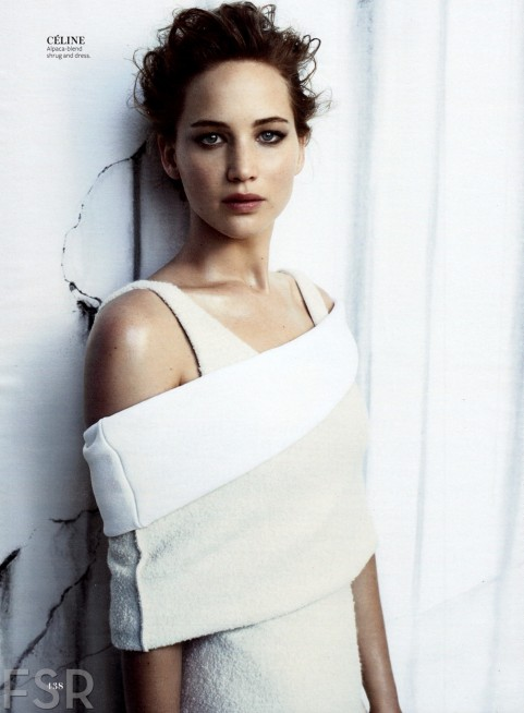 Fashion Scans Remastered Jennifer Lawrence Instyle Usa December Scanned By Vampirehorde Hq Fashion