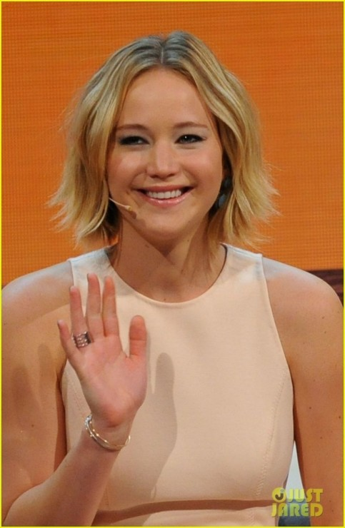 Jennifer Lawrence Guesting At Wetten Dass Tv Show In Germany