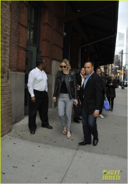 Jennifer Lawrence Leaving Her Hotel In Nyc