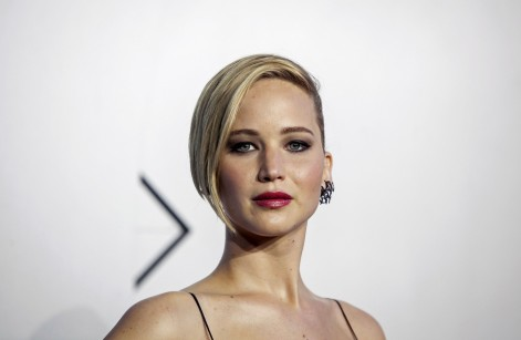 Jennifer Lawrence Reuters Short Hair