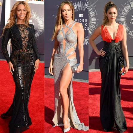 Beyonce Nicolas Jebran Jennifer Lopez Charbel Zoe Nina Dobrev Mtv Music Video Awards Vma Red Carpet La Fashion Judge Marina Berberyan La Splash Magazine Celebrity Style Fashion Trend Fashion