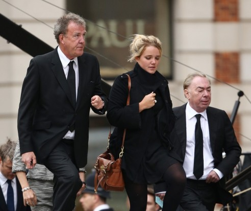 Jeremy Bclarkson Bceremonial Bfuneral Bservice Kn Gayk Nx Daughter