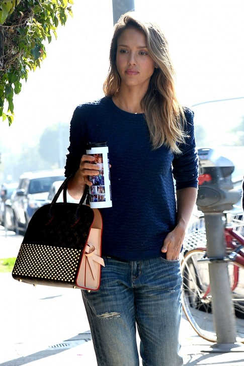 Jessica Alba Cash Warren Out In Beverly Hills February Images Jessica Alba