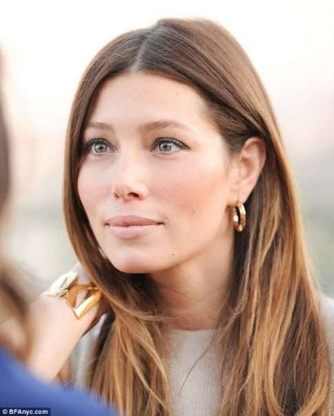 Jessica Biel Attending The Tiffany Co Bash In Hollywood