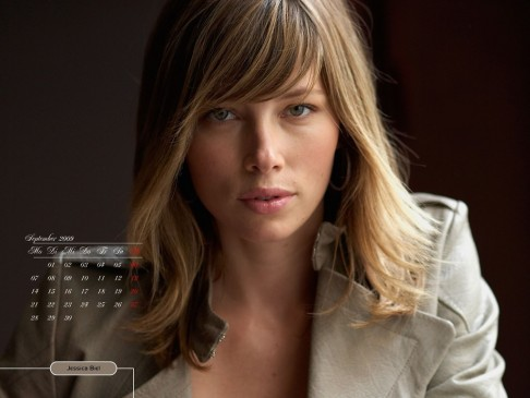 Jessica Biel Widescreen Wallpaper Wallpaper