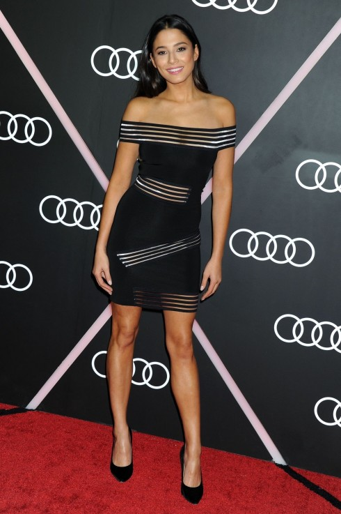 Jessica Gomes Audi Celebrates Golden Globes Weekend Jessica Gomes