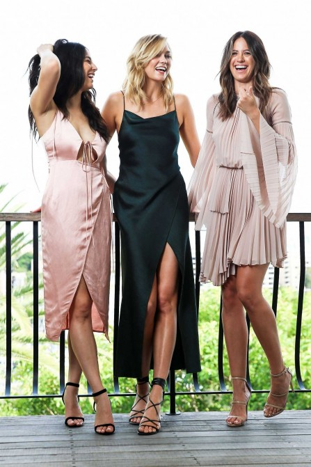 Karlie Kloss Jessica Gomes And Jesinta Campbell David Jones Photoshoot Jessica Gomes