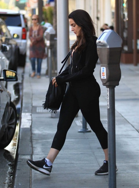 Jessica Lowndes Was Seen At Kreation In Beverly Hills Jessica Lowndes