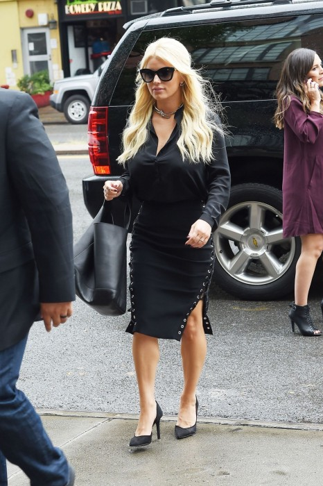 Jessica Simpson Out In New York City September Jessica Simpson