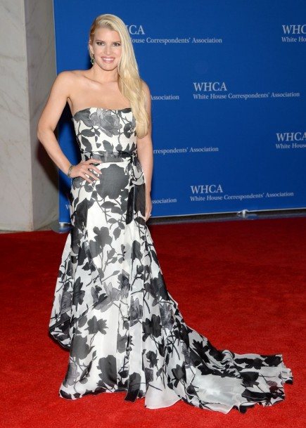 Jessica Simpson White House Correspondents Dinner In Washington Jessica Simpson