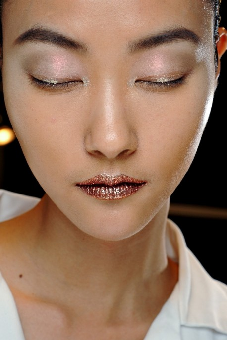 Ji Hye Park Backstage At Christian Dior Couture Fall Winter Pfw