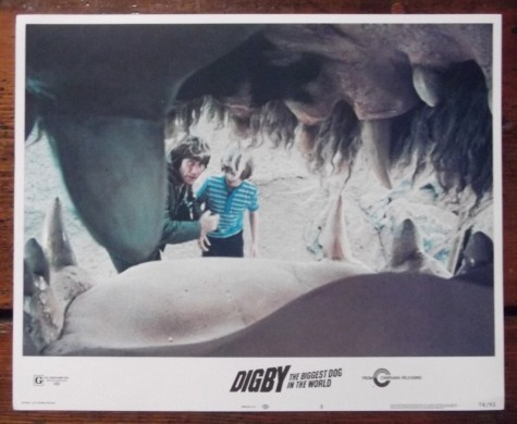 Digby The Biggest Dog In The World Original Lobby Card Jim Dale