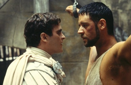 Still Of Russell Crowe And Joaquin Phoenix In Gladiatorul Large Picture Gladiator