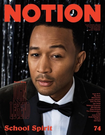 John Legend Is Notion Magazines Prom King John Legend