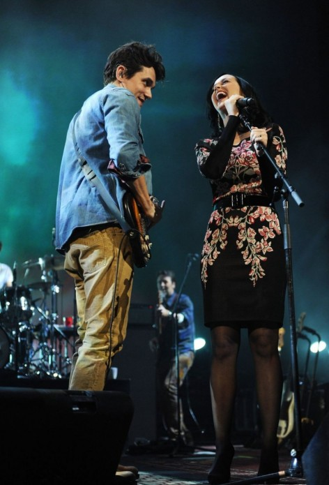 Katy Perry Performing At The John Mayer Concert In New York City December John Mayer
