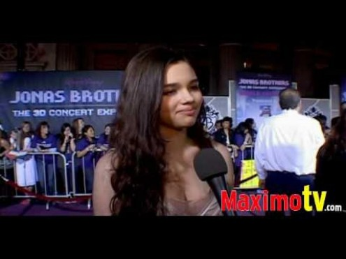 India Eisley At Jonas Brothers The Concert Experience Premiere Feb