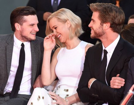 Rs Liam Hemsworth Jennifer Lawrence Josh Hutchersonms Josh Hutcherson