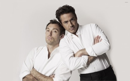 Jude Law And Robert Downey Jr Jude Law