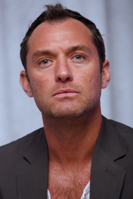 Jude Law At Spy Press Conference Jude Law