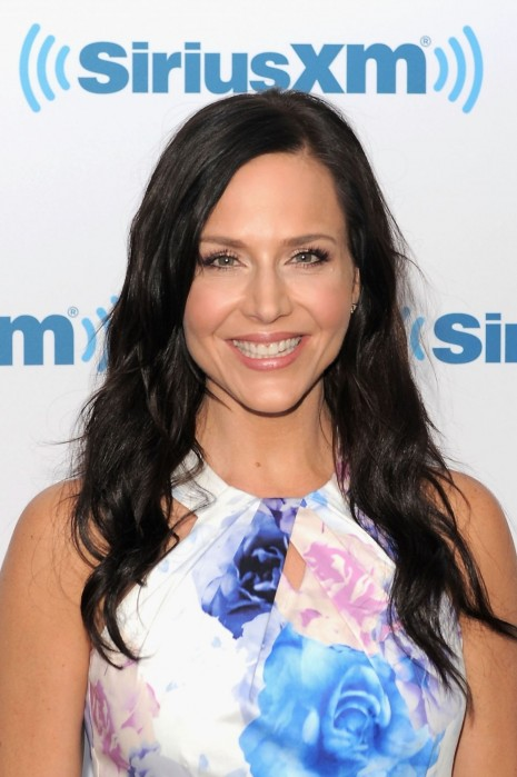 Julie Benz At Siriusxm Studios In New York City August Julie Benz