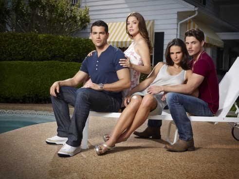 Picture Of Jordana Brewster Jesse Metcalfe Julie Gonzalo And Josh Henderson In Dallas Large Picture And Jesse Metcalfe