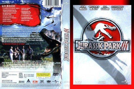 Jurassic Park French Front Dvd Cover