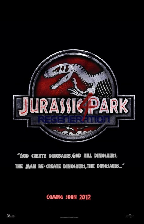 Jurassic Park Iv Poster By Marty Mclfy Vy