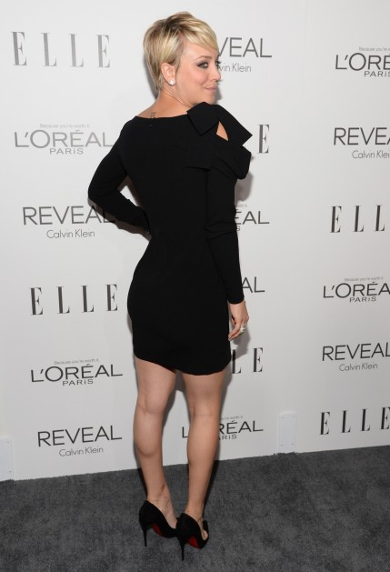 Kaley Cuoco At Elles St Annual Women In Hollywood Awards In La Kaley Cuoco