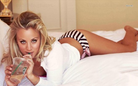 Kaley Cuoco Celebrity Wallpaper Wallpaper