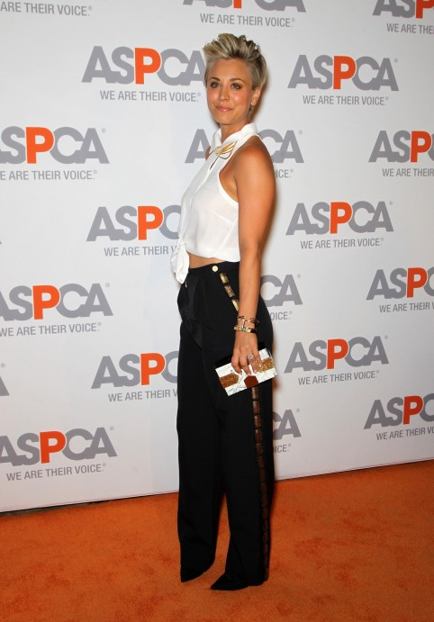 Kaley Cuoco Sweeting Arrives At Aspca Cocktail Party