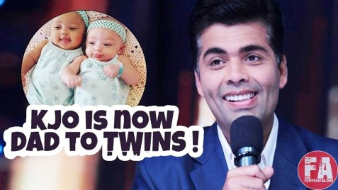 Karan Johar Is Now Father Of Two Twins Roohi And Yash Karan Johar