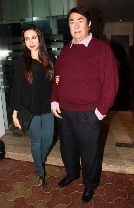 Kareena Kapoor Khan Karisma Kapoor Celebrates Father Randhir Kapoors Th Birthday Kareena Kapoor