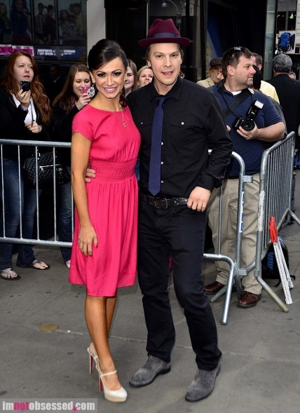 Gavin Degraw And Karina Smirnoff Stop By Good Morning America