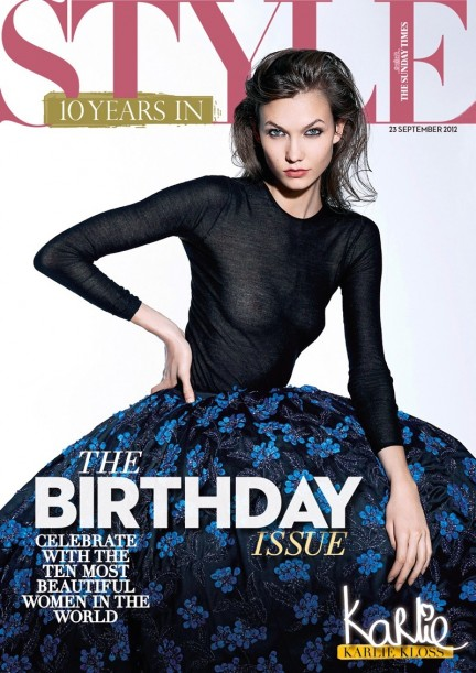 Karlie Kloss Eric Guillemain Sunday Times Style Fashion