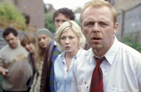 Picture Of Kate Ashfield And Simon Pegg In Shaun Of The Dead Large Picture Number Films
