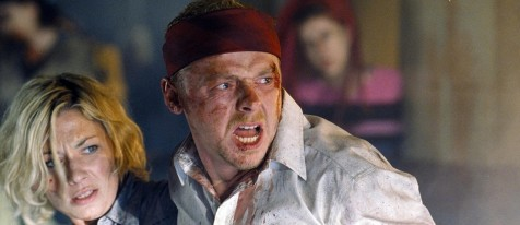 Still Of Kate Ashfield And Simon Pegg In Shaun Of The Dead Large Picture Jessica Hynes