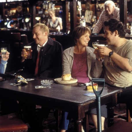Still Of Kate Ashfield Nick Frost Simon Pegg And Penelope Wilton In Shaun Of The Dead Fmq Fitmax