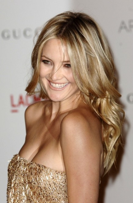 Kate Hudson Blonde Curls Blond